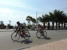 Cycling race in Da Nang, also saw this in Thanh Hoa
