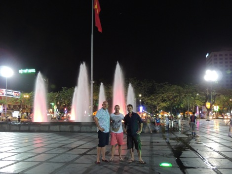 Hai Phong, with friends from London