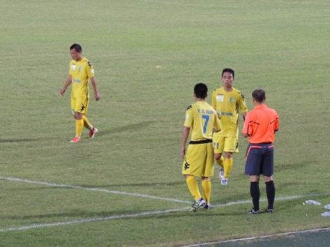 Duy Nam (7) replaces the impressive Ngoc Duy (21)