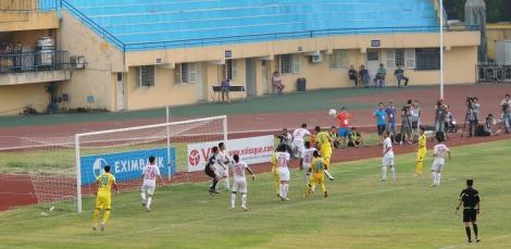 Cristiano attacks a corner