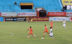 Samson; impressed in the central strikers role