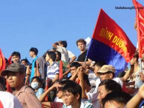 This was posted on the Binh Duong website, it's me!