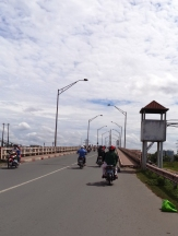 travelling the 40 miles from Ho Chi Minh City