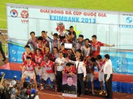 National Cup winners Ninh Binh