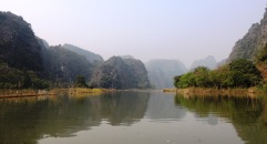 Tam coc, a short ride from the town centre