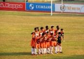 The visiting Ninh Binh team
