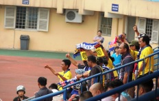 Arema's support