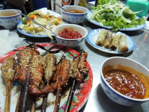 Quang Nam province is renowned for its foods. Banh Xeo