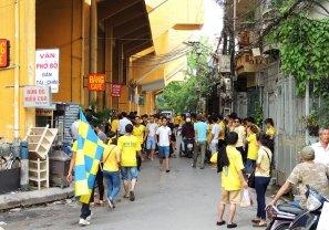 Away fans