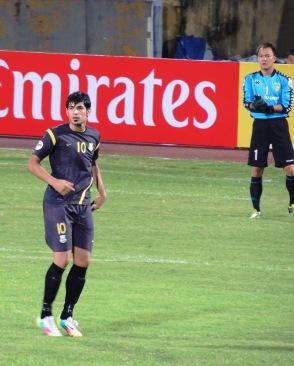 Amjad Radhi, Arbil's goalscorer
