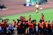 Vietnam celebrate opeing their suzuki cup account