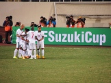 Indonesia celebrate Zulham Malik Zamrun equaliser