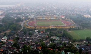 Ariel view of Vinh Stadium