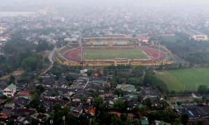 Ariel view of Vinh Stadium