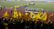 Hà Nội T&T & Persib enter the My Dinh National stadium