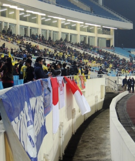 A few Persib fans