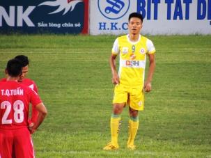 Ha Noi goalscorer Trịnh Duy Long