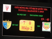 Hà Nội T&T 7-0 Đồng Tháp