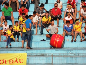 Nam Dinh's travelling support