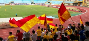 The travelling Nam Dinh fans