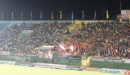 Fireworks in the home end