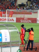 Nguyễn Công Phượng, Vietnams wonderkid got a run out late on