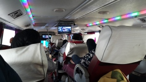 Techno pumping sleeper bus to Thanh Hoa