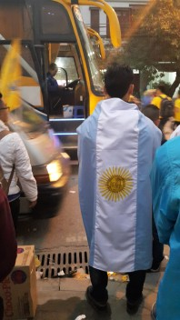 Ha Noi fans show their loyalty to Argentine pair Gonzalo & Victor