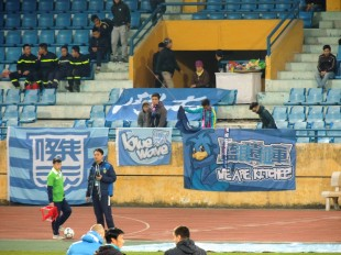 the 5 travelling fans....fair play!