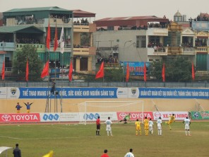 Pape Qmar Faye slots home his second penalty