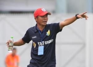 T&T's new interim coach Phạm Minh Đức