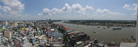 Cần Thơ, the largest city in the Mekong Delta
