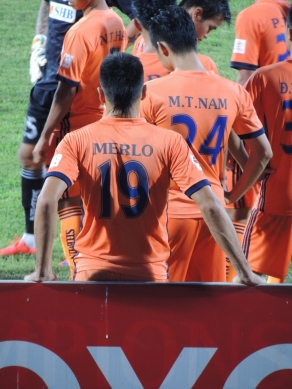 Merlo grabbed his 7th goal of the season for Danang