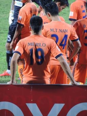 Merlo grabbed his 7th goal of the season for Danang