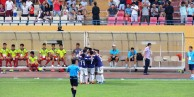 T&T celebrate Hanoi's opener...in front of the way bench!