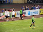 Van Cong replaced the injured Anh Duc in the T&T goal
