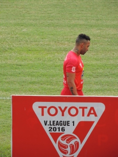 Júnior Paraíba made his debut for HAGL