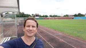 Anouvong stadium, Vientiane, Laos.