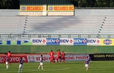 Đặng Văn Thành opened the scoring for Bình Dương
