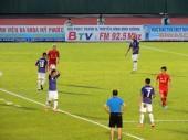 Phạm Thành Lương (L) had another fine game for T&T