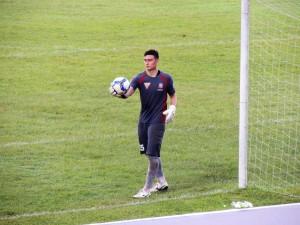 Đặng Văn Lâm impressed again in the Hai Phong goal