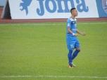 Nghiêm Xuân Tú was superb on the wing for Quảng Ninh