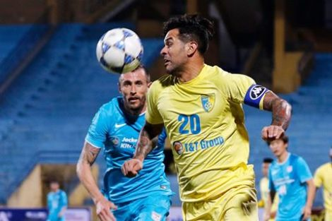 Gonzalo scored the winner in last years tie between T&T and Kitchee