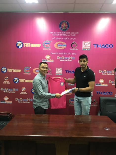 source: FB CLB bóng đá Sài Gòn