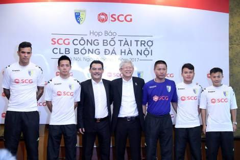 Hanoi FC and new sponsors SCG