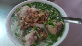 Pre match grub - Bún chân giò (pig knuckle noodle soup)