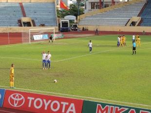 Nam Định 3-1 CLB bóng đá Huế
