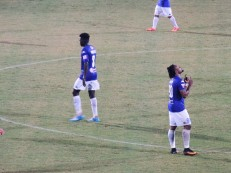 Oseni celebrates his 1st Hanoi FC goal. He's now scored for 6 different VLeague 1 clubs