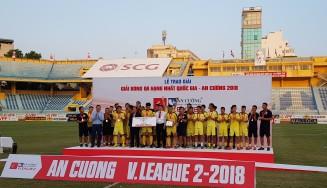 #vleague 2 2018 runners-up 2018