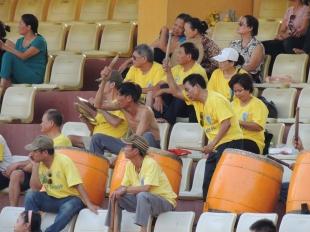 Hanoi's 'away' fans